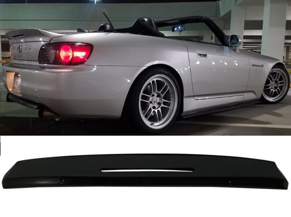 ホンダ S2000 AP1 AP2 ロードスター リアトランクウィングスポイラー艶消黒マットブラック TM 2000-2009_画像3