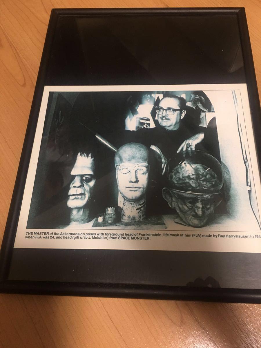 【世界に一つ!!サイン付き!!】フォーレスト・Jアッカーマンのコレクションの一つでスペースモンスターになります!_画像4