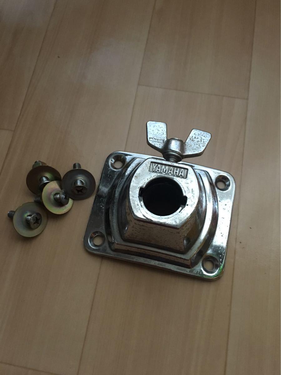 貴重な日本製 YAMAHA ヤマハ バスドラム用 タムホルダー ベース MADE IN JAPAN_画像1