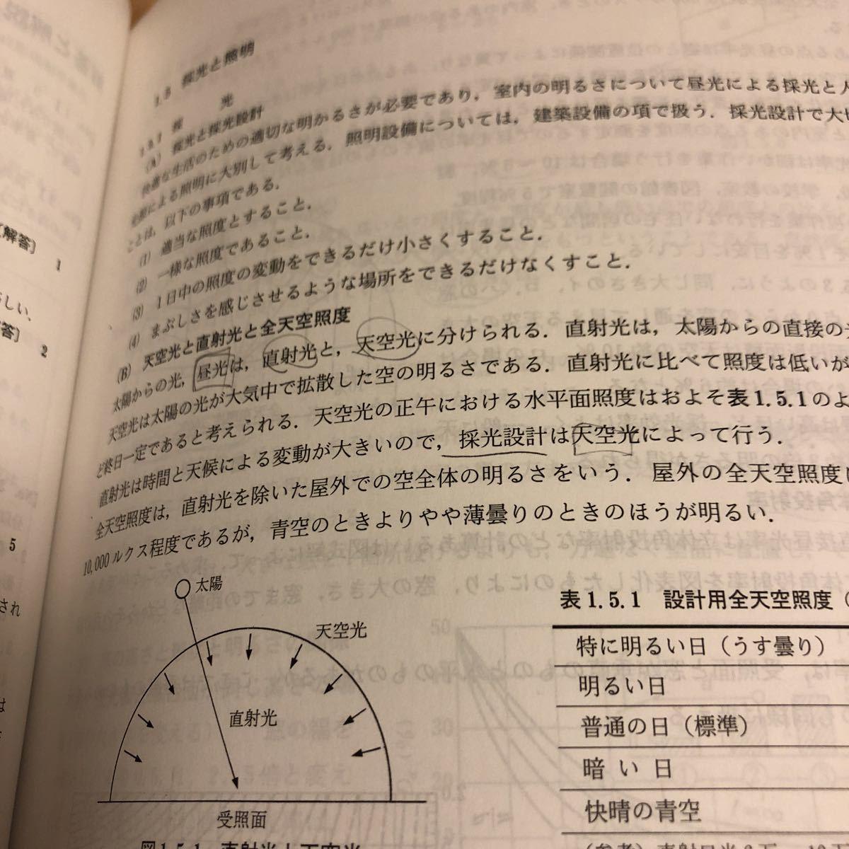 地人書館『合格対策 一級建築士 受験講座 学科Ⅰ』★即決★_画像3