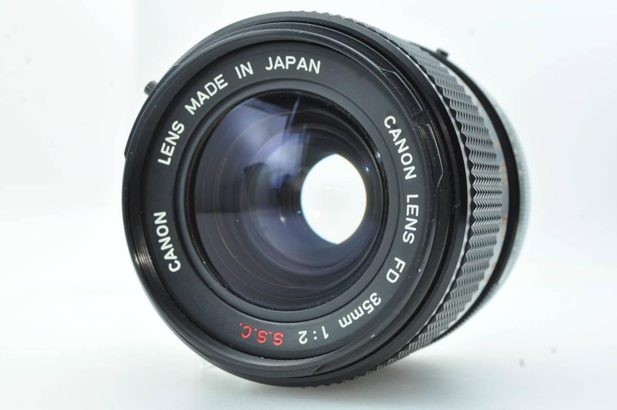 ★極美品★キャノン CANON FD 35mm f2 S.S.C ★完動★#4072
