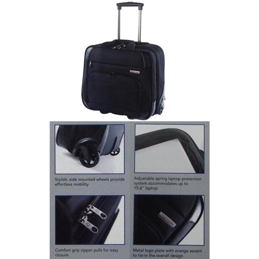 Samsonite サムソナイト スーツケース Vaton Rolling Tote Samsonite ヴァトン ローリングトート iPad in 機内持ち込み 機内持込_画像3