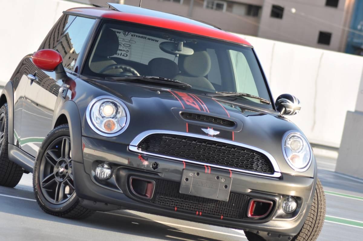 必見♪1円~R56 MINI Cooper S/タ-ボ/後期直噴モデル!!6速A/T/サンル-フ/オリジナルカスタム多数!!OP16inAW/禁煙美車/Dメンテ車両/機関良好_他とかぶらない特別な1台をご体感下さい!!