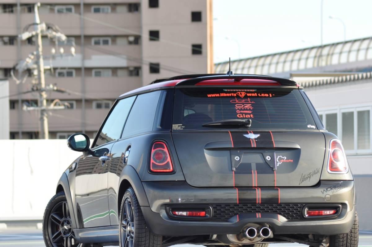 必見♪1円~R56 MINI Cooper S/タ-ボ/後期直噴モデル!!6速A/T/サンル-フ/オリジナルカスタム多数!!OP16inAW/禁煙美車/Dメンテ車両/機関良好_現在修復が必要な個所は無く綺麗かと思ます