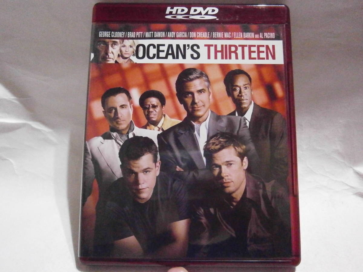 ●中古HD DVD●オーシャンズ13●WBHA-Y18223_画像1