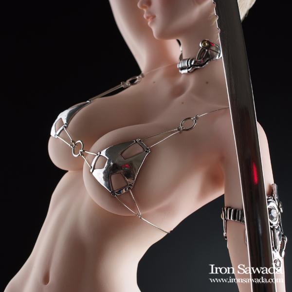 ☆ Iron Sawada ☆ Sword Silver ☆ 荒木 元太郎氏原型_画像10