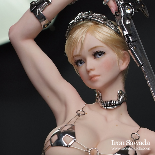 ☆ Iron Sawada ☆ Sword Silver ☆ 荒木 元太郎氏原型_画像5