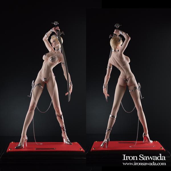 ☆ Iron Sawada ☆ Sword Silver ☆ 荒木 元太郎氏原型_画像2