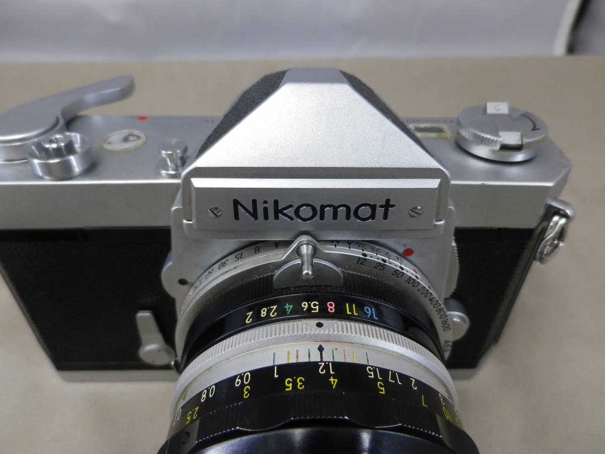 【25873】◆Nikomat ニコマット FT フィルムカメラ 一眼_画像5