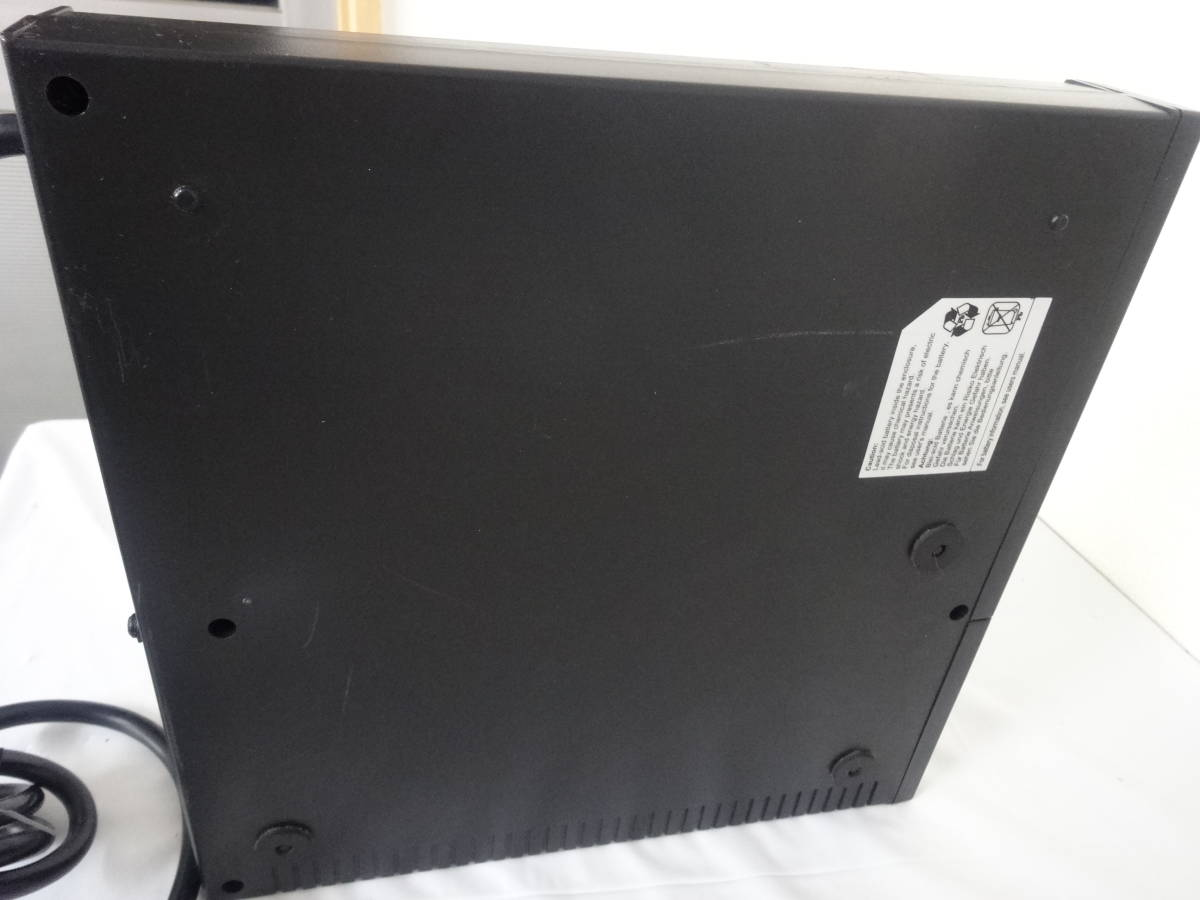 ★591 OMRON 無停電電源装置 BX50FW 通電OK_画像9