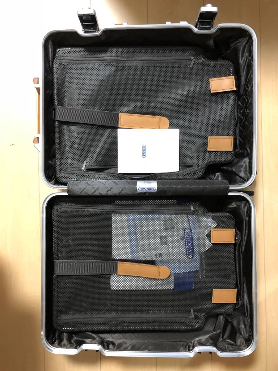 【送料無料】 新品 RIMOWA リモワ ルフトハンザ ボーイング 747-8 マルチホイール 4輪 53 34L