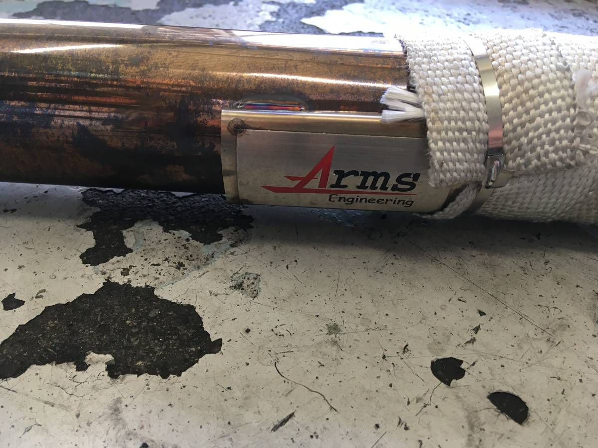 【Arms Engineeringカプチーノマフラー センターセット】_画像6