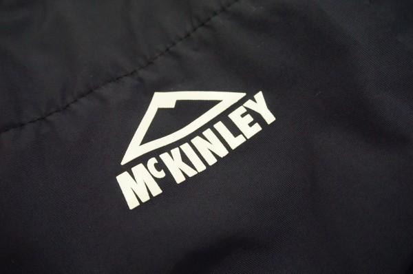 ドイツアウトドアブランドMckinley 防水透湿ジャケット ネイビー ジュニア160 日本レディースM~L相当 マリンテイスト_画像3
