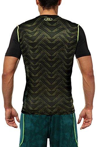 新品 UNDER ARMOUR アンダーアーマー ヒートギアショートスリーブTシャツ Mサイズ 半袖シャツ ランニングウェア トレーニングウェア_画像2