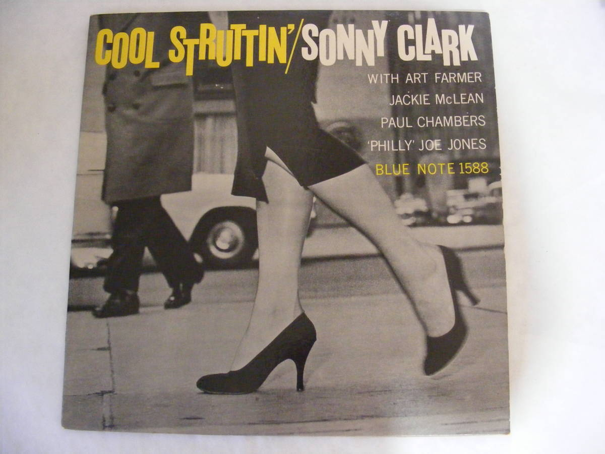 Jazz . name record COOL STRUTTIN' SONNY CLARK blue Note [1588] Sony *