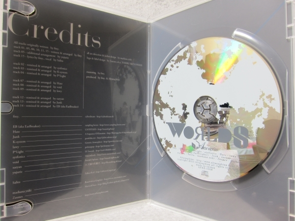 ★Altanaphixx:OpusXtra 05 : Worlds/P*Light,void,beatmania,ビートマニア,トランス,テクノ,エレクトロ,同人_画像3