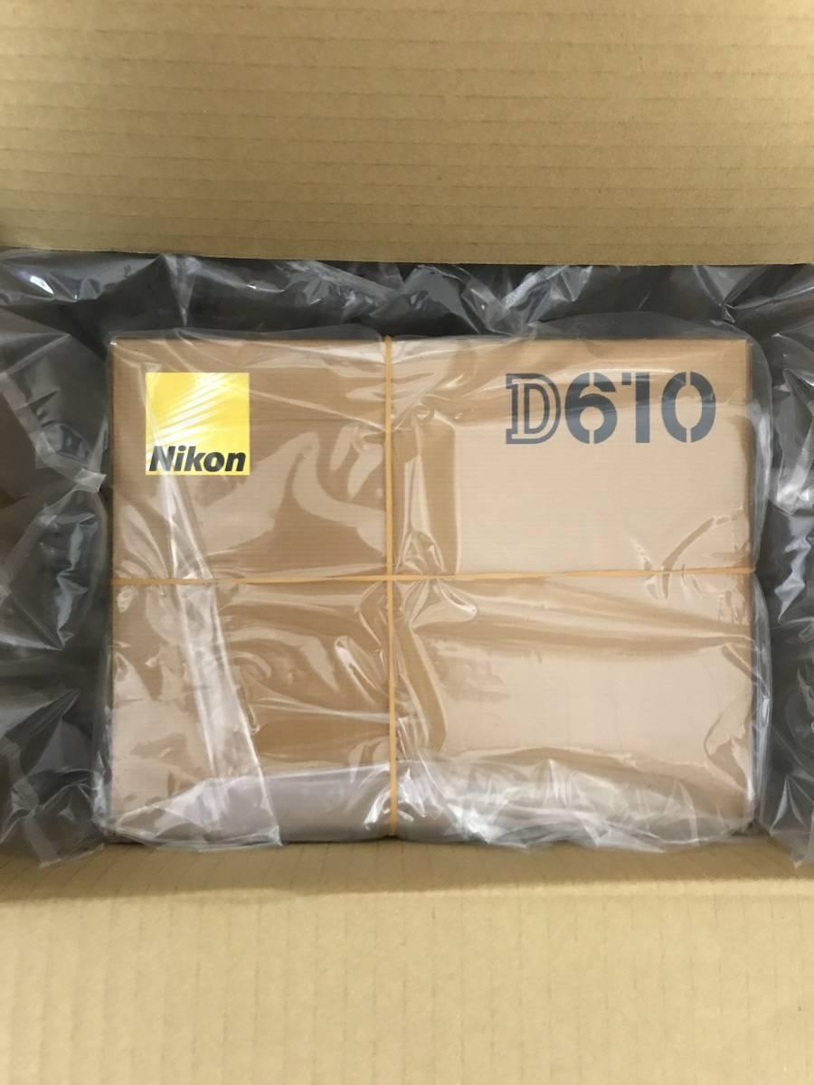 ☆新品 Nikon デジタル一眼レフカメラ D610 ボディ☆