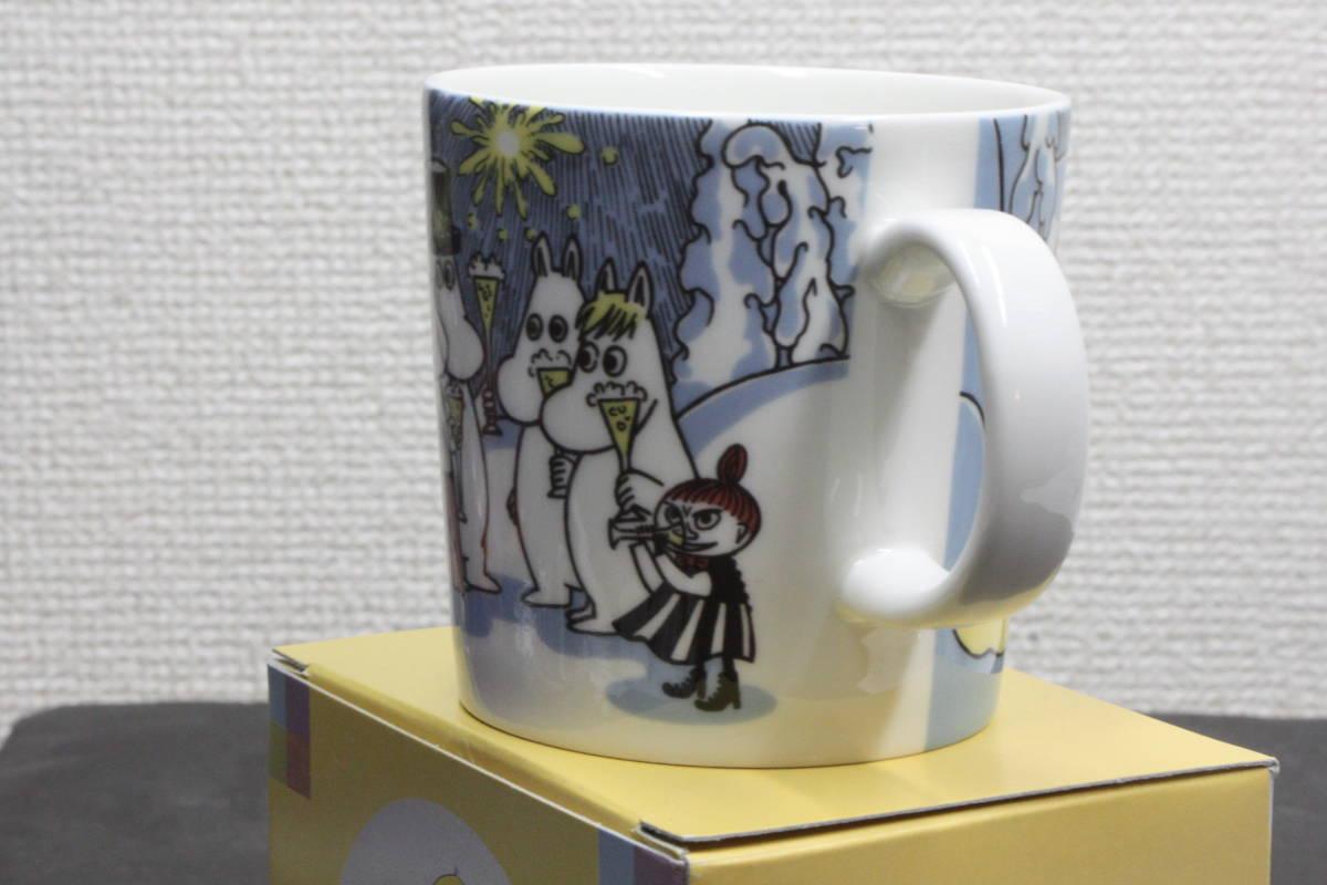 ムーミンマグカップ MILLENNIUM2000 アラビア ARABIA  2000年ミレニアム記念  未使用品_画像2