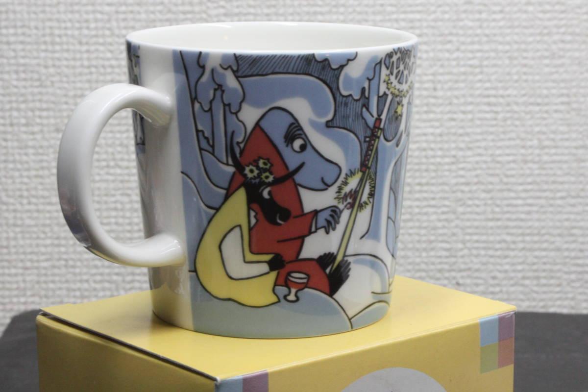 ムーミンマグカップ MILLENNIUM2000 アラビア ARABIA  2000年ミレニアム記念  未使用品_画像3
