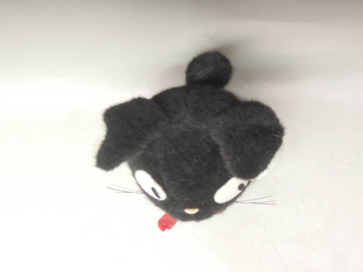 ●《 魔女の宅急便 おすまし ジジ ぬいぐるみ  》 スタジオジブリ となりのトトロ 黒猫 猫 昭和レトロ_画像4