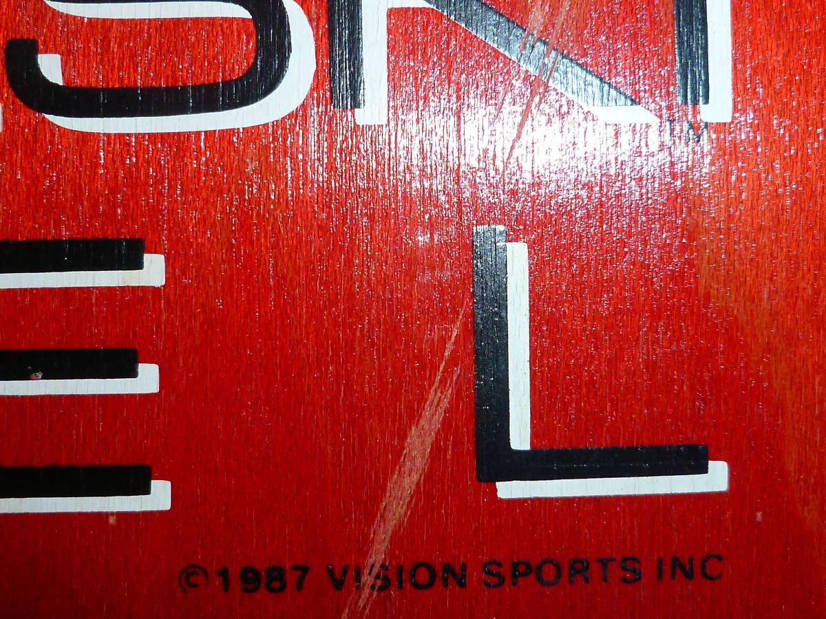★ VISION TOM GROHOLSKI MODEL 1987 ヴィジョン トム グロホルスキー モデル 未使用品 ★_画像5