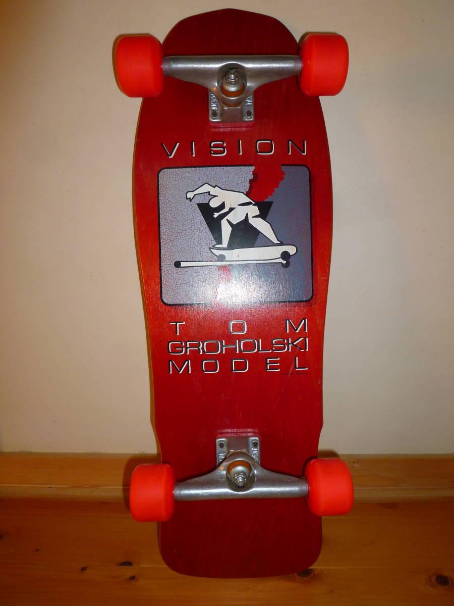 ★ VISION TOM GROHOLSKI MODEL 1987 ヴィジョン トム グロホルスキー モデル 未使用品 ★_画像1