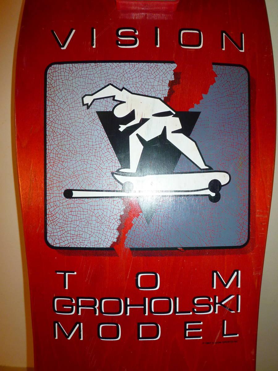 ★ VISION TOM GROHOLSKI MODEL 1987 ヴィジョン トム グロホルスキー モデル 未使用品 ★_画像4