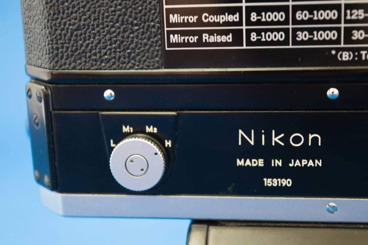 Nikon F-36 F用 モータードライブ+バッテリーパック 美品_画像8