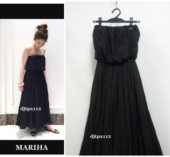 Deuxieme Classe取扱い 17ss *MARIHA マリハ*完売 草原の夢のドレス*ワンピース*黒ブラック_画像2