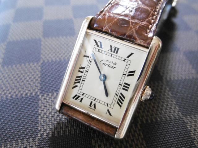 卡地亞TANK MUST LM IVORY 12RN AB /卡地亞Tank Mast男士石英腕錶[含常規商店維修證書] 編號:m270957955