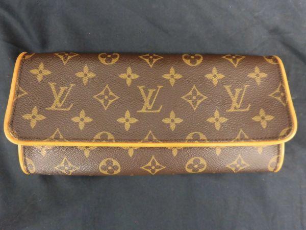 226☆mt 未使用 ルイヴィトン Louis Vuitton LV モノグラム ポシェットツインGM 2way ショルダーバッグ_画像2