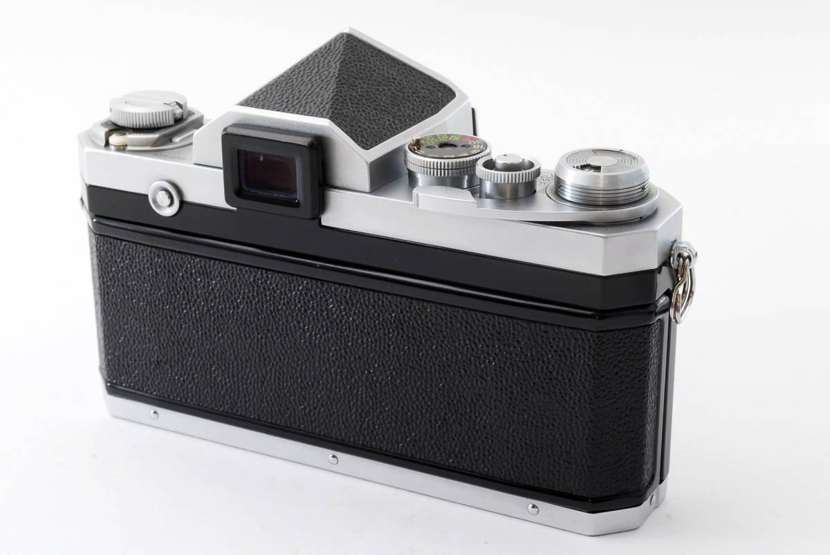 ★極上美品★ Nikon F シルバー ボディ 64万番台 元箱付き #232-1_画像8