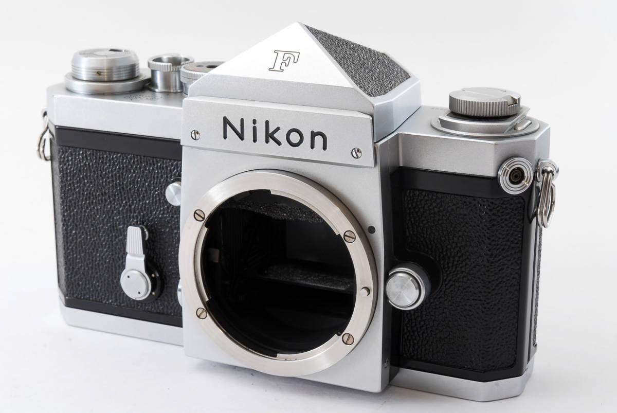★極上美品★ Nikon F シルバー ボディ 64万番台 元箱付き #232-1_画像2