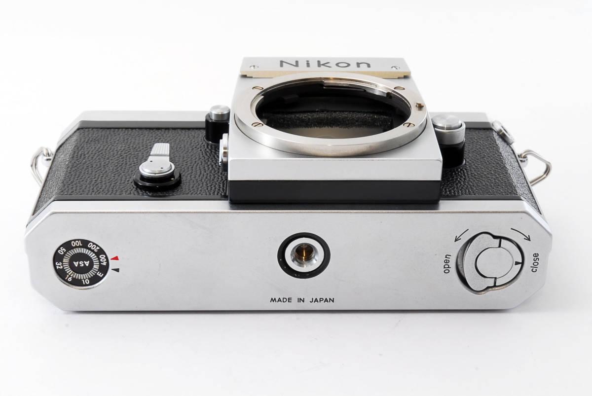 ★極上美品★ Nikon F シルバー ボディ 64万番台 元箱付き #232-1_画像6