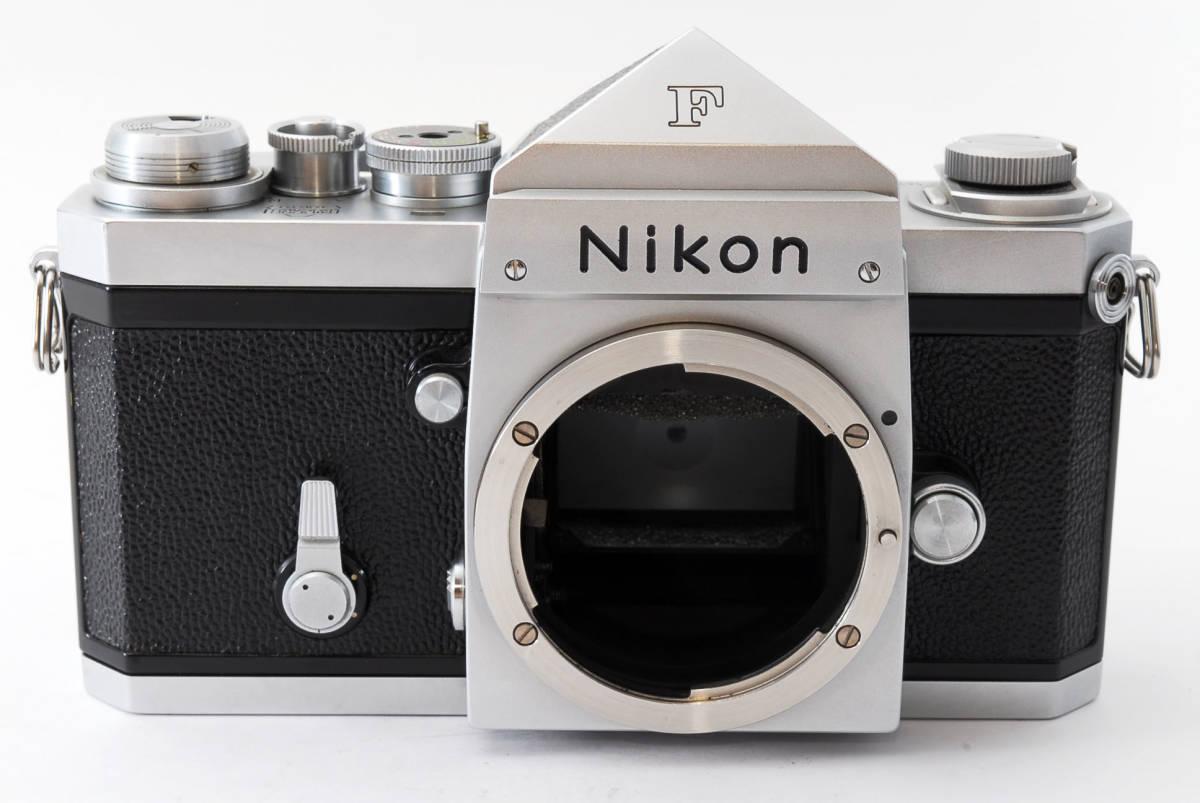 ★極上美品★ Nikon F シルバー ボディ 64万番台 元箱付き #232-1_画像3