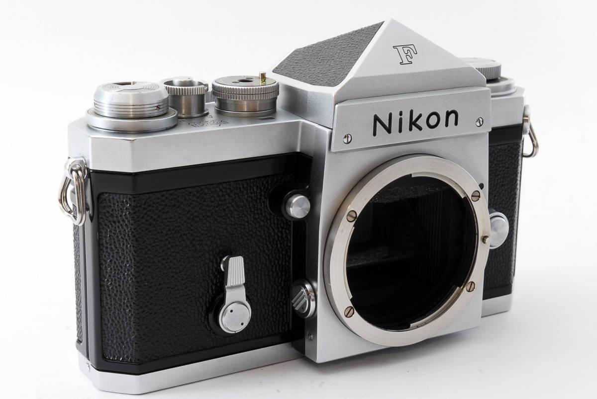 ★極上美品★ Nikon F シルバー ボディ 64万番台 元箱付き #232-1_画像4