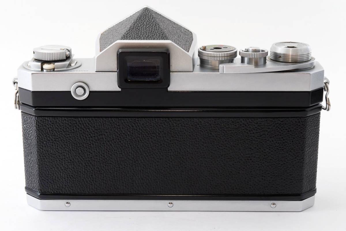 ★極上美品★ Nikon F シルバー ボディ 64万番台 元箱付き #232-1_画像7