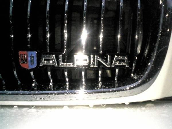 BMW アルピナグリル用立体エンブレム /立体マーク/E60/E90/E93/E92/E61/E70/E71/E82/E85/E86/E87/E89/E91/E36/E46/GT_画像3