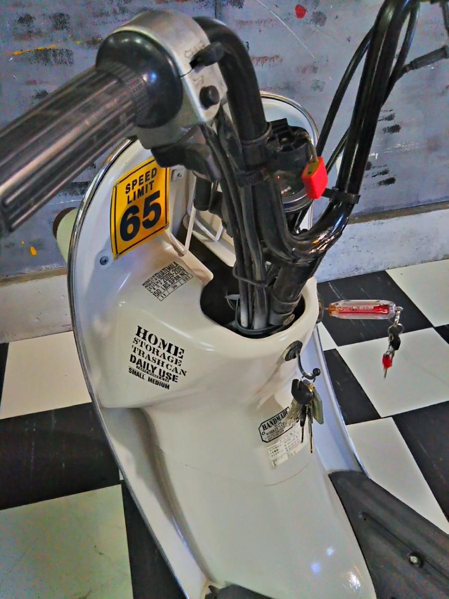 《千葉県発》NEW STYLE カスタム 仕様/レーシー アメリカン style/SUZUKI【チョイノリ】#4サイクルEG#50cc#原チャリ#スクーター#バイク_画像4
