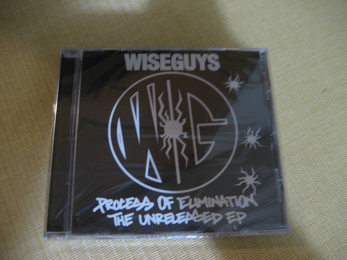 """新品CD WISEGUYS """"PROCESS OF ELIMINATION - THE UNRELEASED EP """"""""CD"""""""""""" muro kiyo missie koco _画像1"""