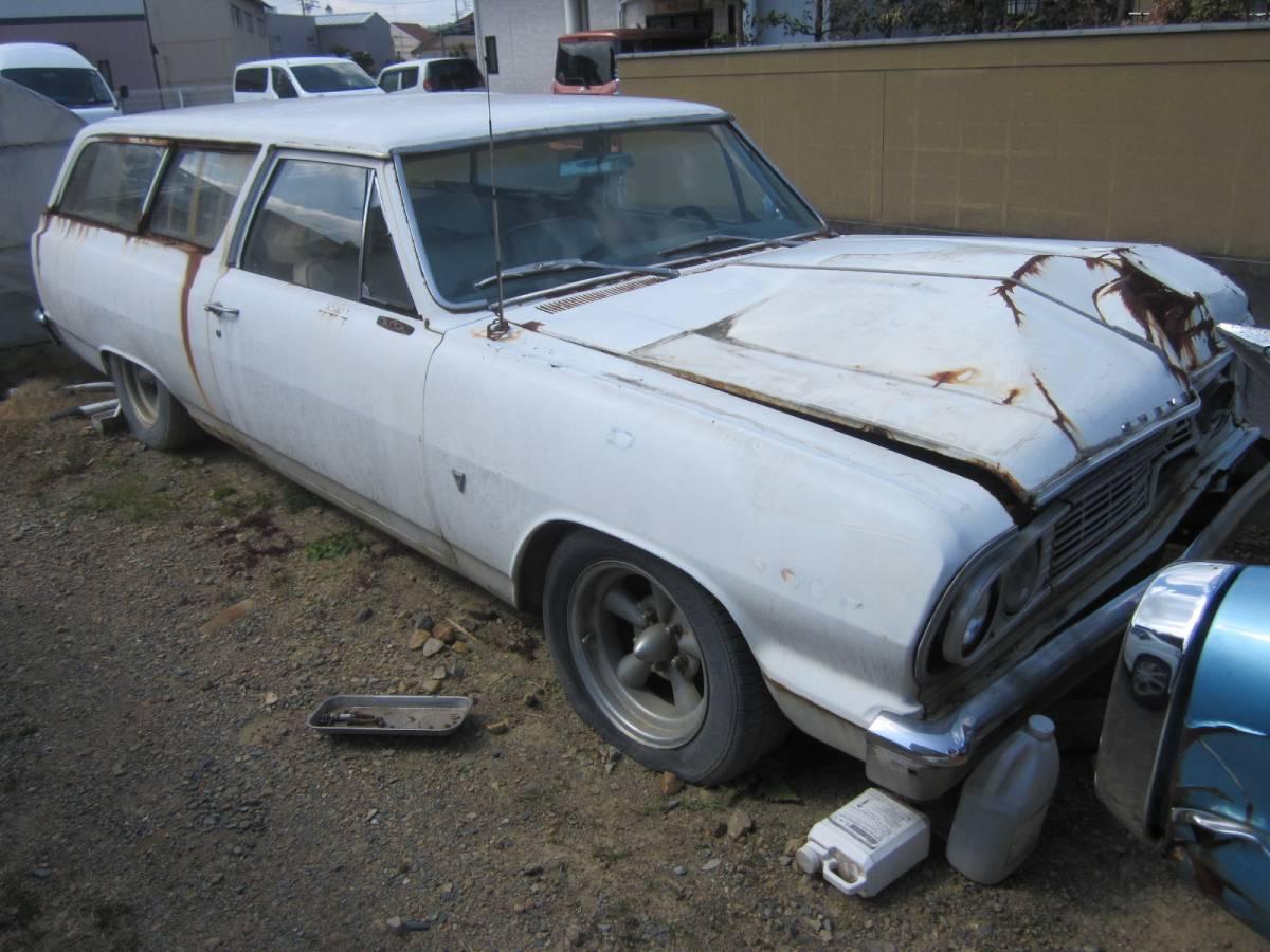 1964 Chevrolet she bell 2Dr Wagon malibu Wagon document equipped