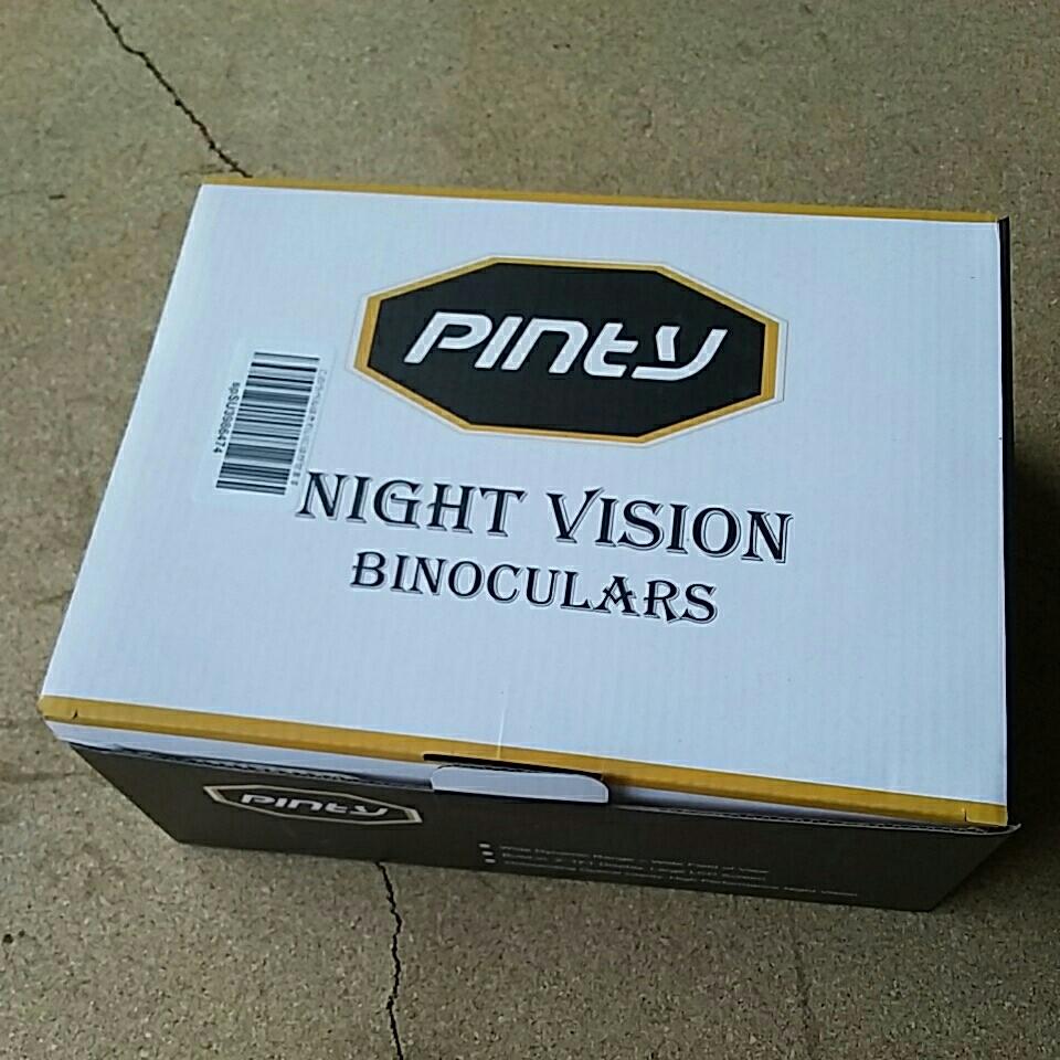 Pinty ピンティーナイトビジョン 双眼鏡 暗視ゴーグル デジタル赤外線 サバゲ 昼夜使用可能 送料無料