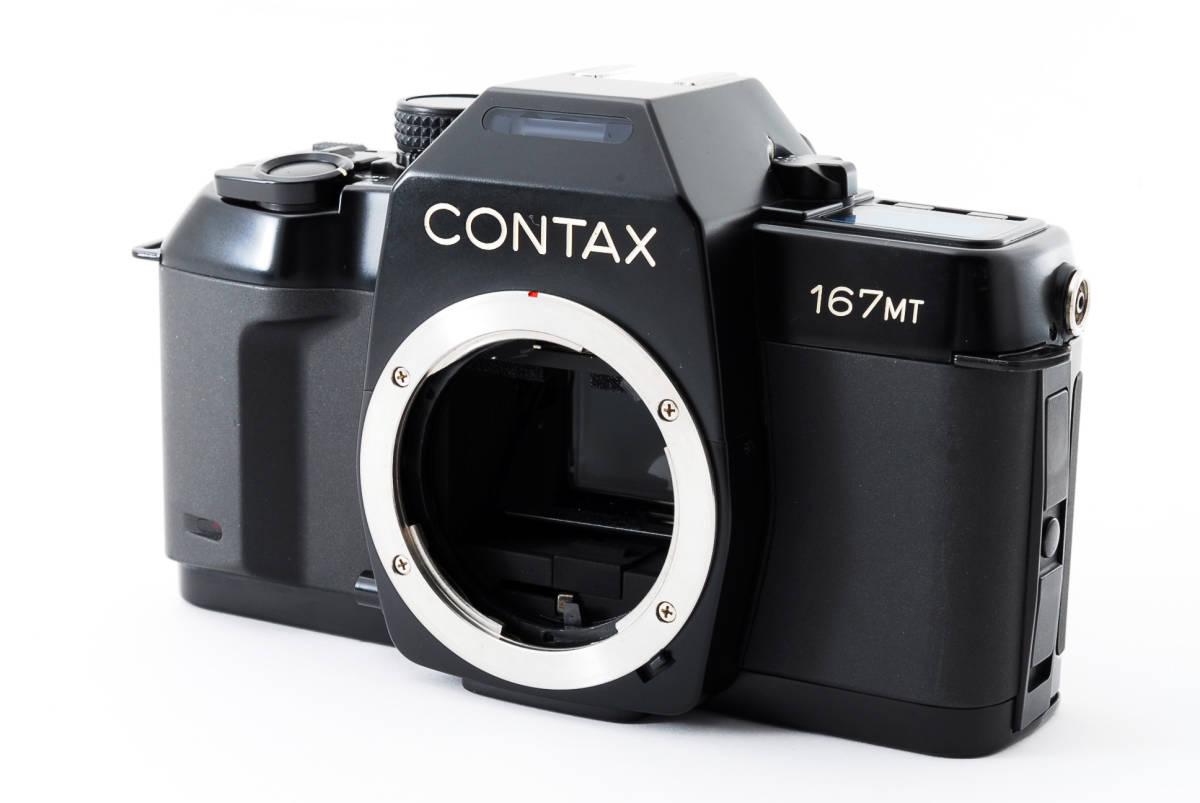 ★極上美品★CONTAX 167MT SLR Film Camera Body ボディ 315035 421_画像1