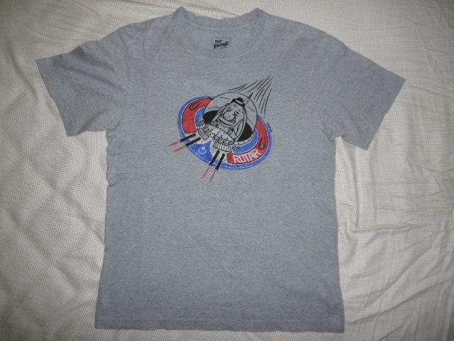 希少 ROTAR Tシャツ 良品 /Sketch氏デザイン,ratland,snoid,weirdo,スケッチ,ラットランド,UFOのプリント,グレー_画像2