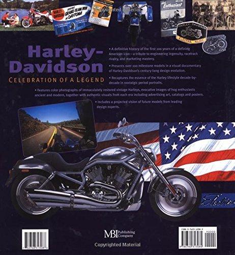 洋書 ハーレー・ダビッドソンの100年/ Harley-Davidson 100 Years: Celebration of a Legend(輸入品_画像2
