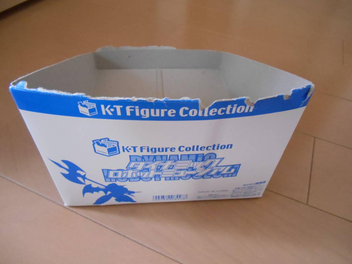 海洋堂×タカラ 山口式可動人形 『K・T Figure Collection ダイナミック ロボットミュージアム』 新品 カード付 永井豪/石川賢 全5種セット_画像6