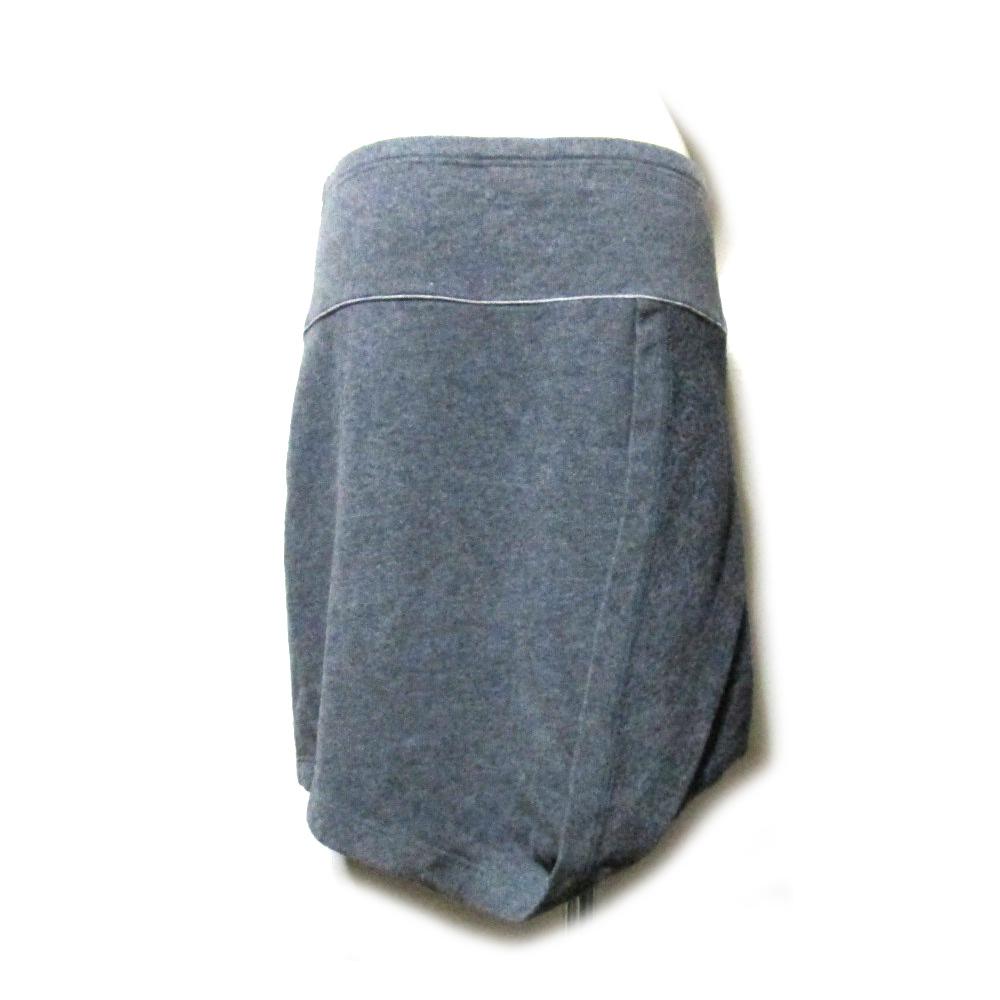 Hussein Chalayan フセイン チャラヤン 「M」 コットンラップスカート 115542-q_画像2