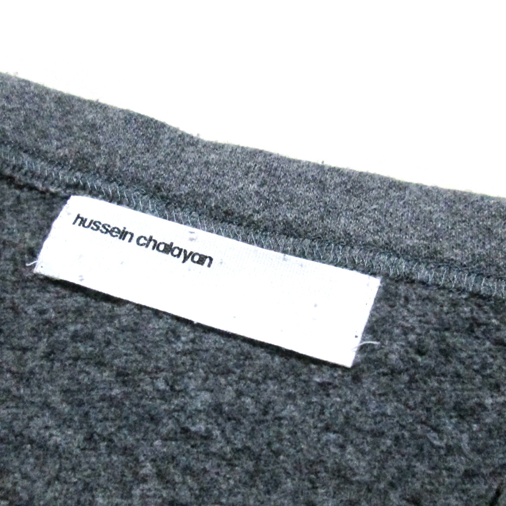 Hussein Chalayan フセイン チャラヤン 「M」 コットンラップスカート 115542-q_画像4