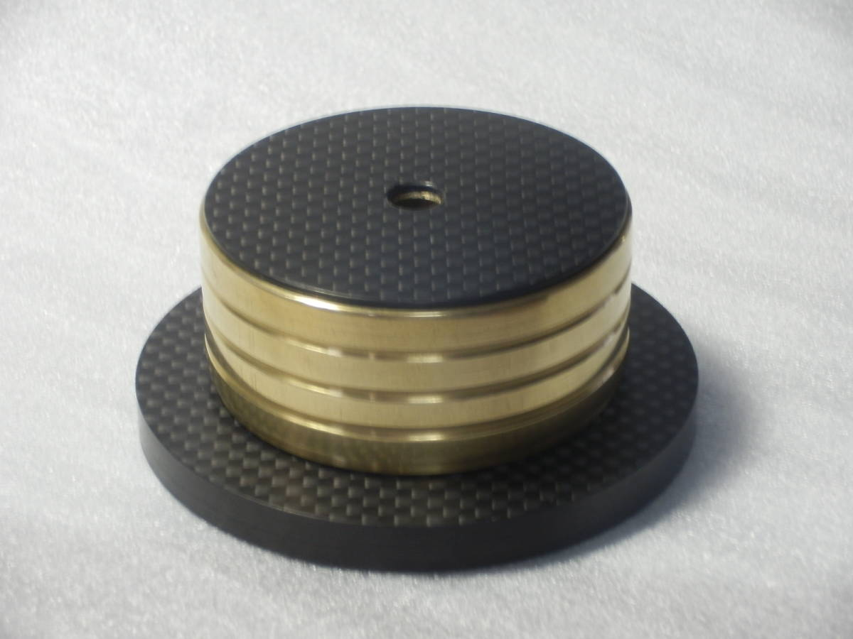 手工品 金属&ドライカーボン製 スタビライザー(表面:真鍮鏡面仕上)_画像4