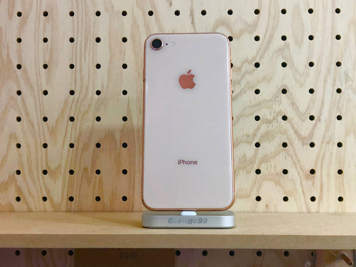 【ジャンク】iPhone8 AppleCare加入済み 部品取り用 _画像2